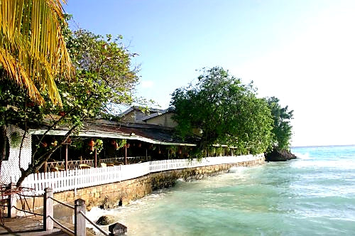Australian Cricket Tours - Pisces Seafood Restaurant, St Lawrence Gap, Barbados
