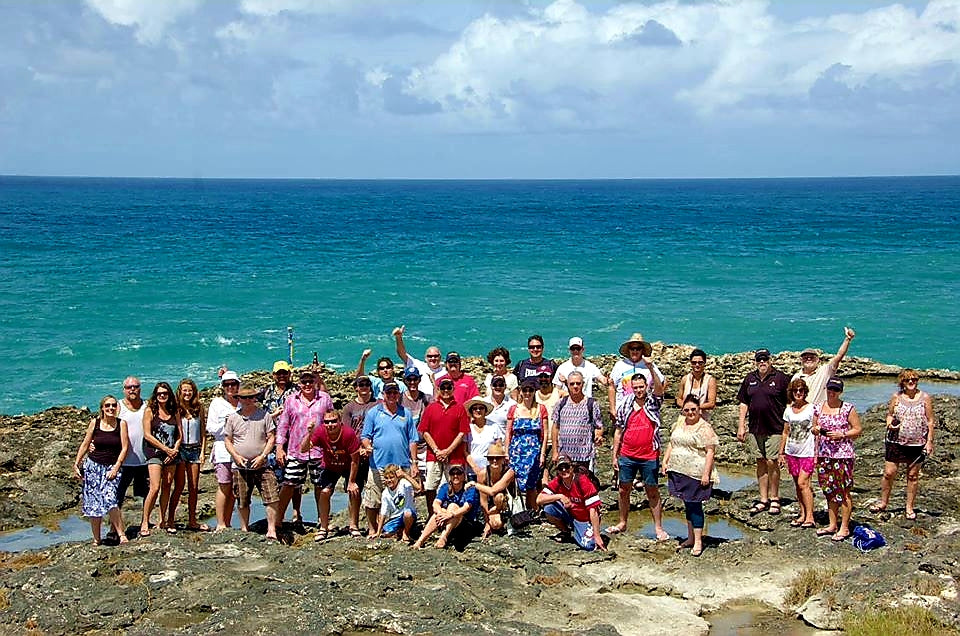 Australian Cricket Tours - Team Photo At North Point, St Lucy, Barbados