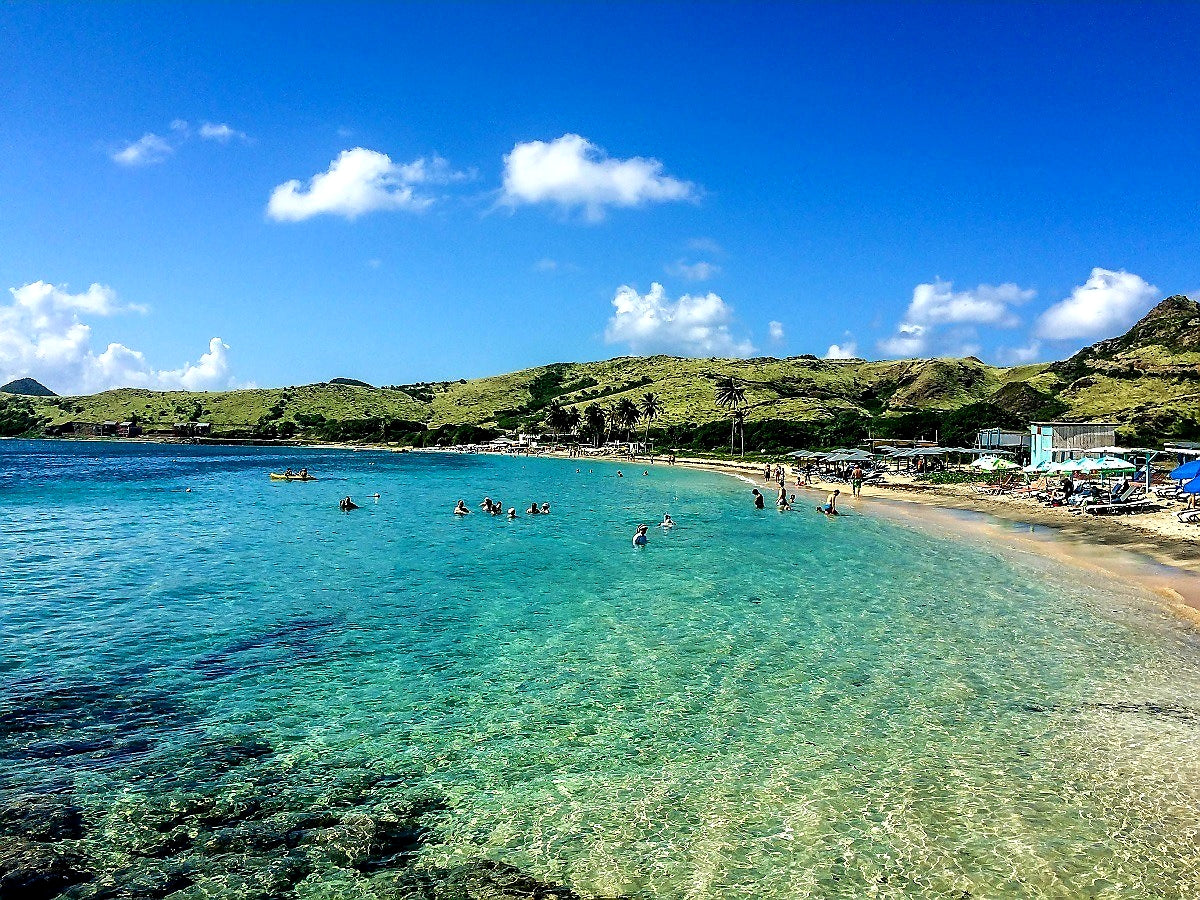 Australian Cricket Tours - The Amazing Blue Waters Of St Kitts