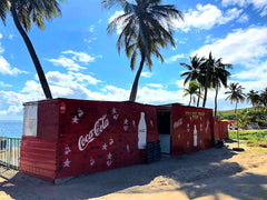 Australian Cricket Tours - A Classic West Indian Rum Shack In A Coverted Shipping Container, Cockleshell Bay, St Kitts