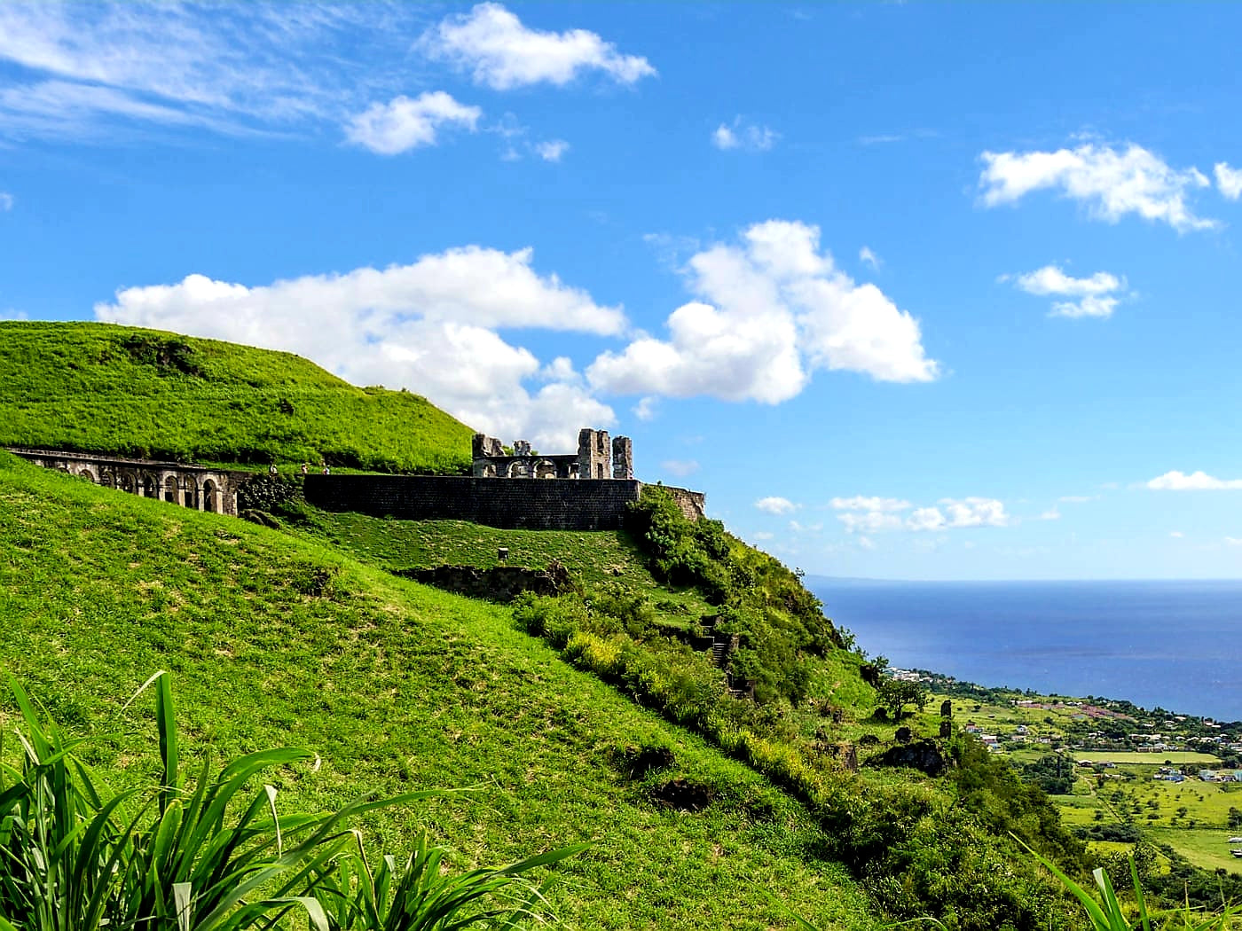 Australian Cricket Tours - Brimstone Hill Fortress, St Kitts