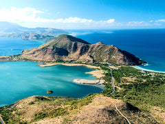 Australian Cricket Tours - The View From Southeast Peninsular Loking North Over St Kitts