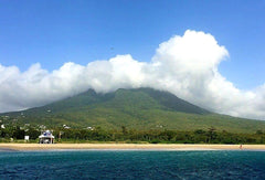 Australian Cricket Tours - The Cloud Shrowded Peak Of Mount Nevis, Nevis