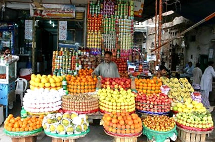 Australian Cricket Tours - Fruit And Vegetable Markets Add Much Needed Colour To Faisalabad, Pakistan
