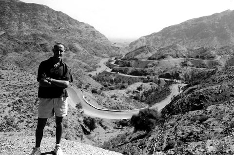 Australian Cricket Tours - Heading To The Khyber Pass, The Famous Winding Road View Point Through The Hindu Kush Mountains, Pakistan