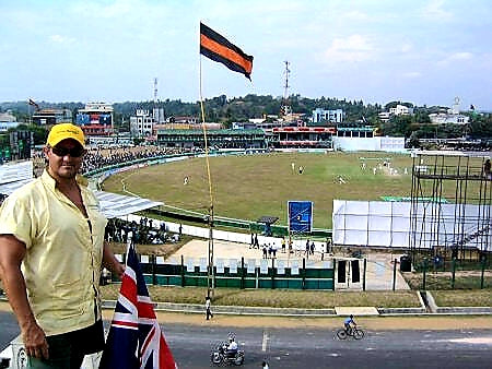 Australian Cricket Tours - Watching Cricket From Atop Galle Fort, Galle, Sri Lanka