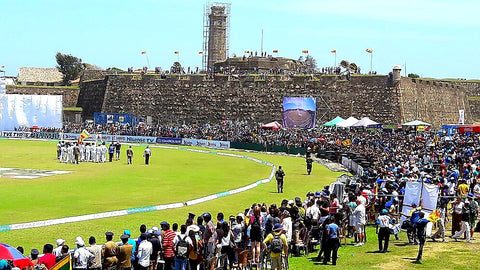 Australian Cricket Tours - Our View Of The 16th Century Dutch Fort From Within Galle International Cricket Stadium, Galle, Sri Lanka