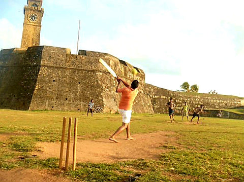 Australian Cricket Tours - Cricket Being Played At Galle Fort, Galle, Sri Lanka