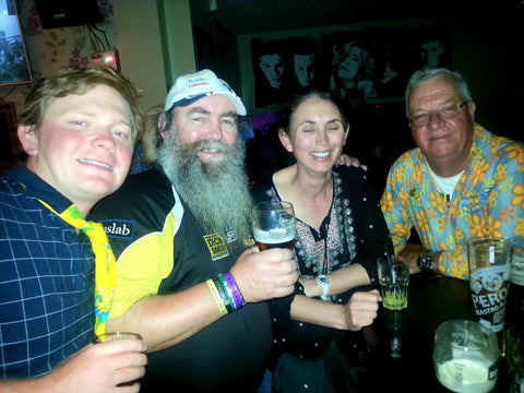 Australian Cricket Tours - After Play Drinks With Great People Including Our Dearly Missed Friend Bernie Moynahan, During The Ashes Test Cricket Series 2019 | London | England