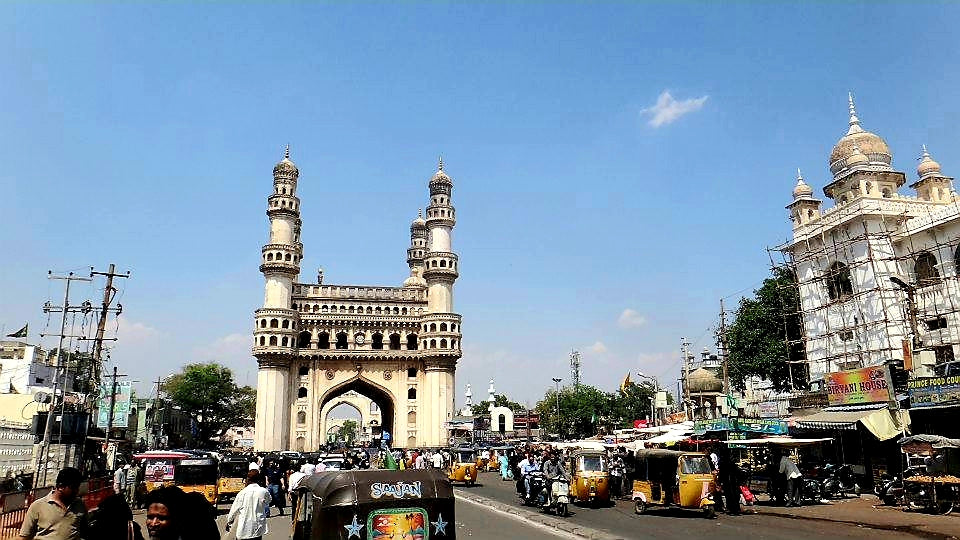 Australian Cricket Tours - Charminar In Old Town Hyderabad | India