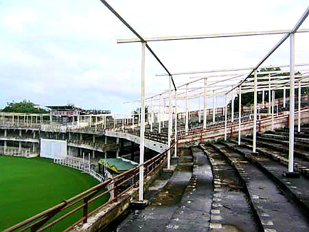 Australian Cricket Tours - The Old Vidharba Cricket Association Stadium In Nagpur Appears Derelict And Abandoned   Nagpur   India