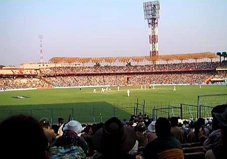 Australian Cricket Tours - Mighty Eden Gardens Played Hosts To The Greatest Test Match Ever Played, Australia Vs India At Calcutta (Kolkata) 2001