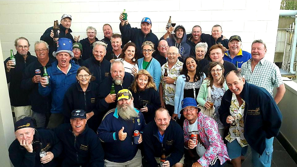 Australian Cricket Tours - Tour Group Photo In Christchurch After The 2nd Test Australia vs Zealand At Hagley Oval In 2016