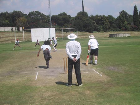 Australian Cricket Tours - Australian Media Team V South Africa Media In Johannesburg 2002