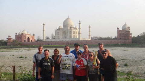 Australian Cricket Tours - On Every Australian Cricket Tour To India We Always Visit The Taj Mahal In Agra, But More Importantly Venture To The Yammuna River Banks Behind The Taj Mahal To Play Cricket. We Will Return To The Taj Mahal On Our Australian Cricket Tour To India 2023