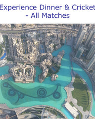Looking Down On Dubai From The Burj Khalifa With #AustralianCricketTours