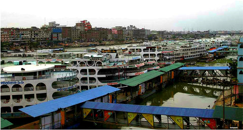 The madness of Sadarghat Ferry Terminal in Old Dhaka