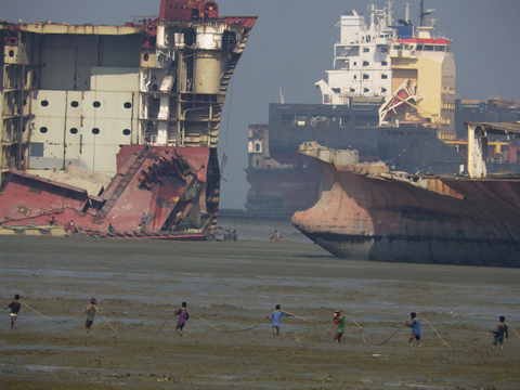 Where Ships Go To Die, Bhariati Beach, Chattogram, Bangladesh