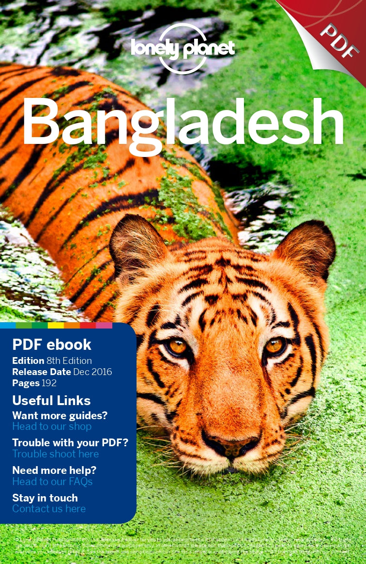 Australian Cricket Tours - Lonely Planet Bangladesh Travel Guide Cover Image