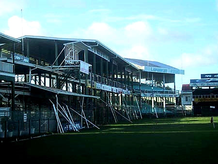 Australian Cricket Tours - Bourda Oval, Georgetown, Guyana, Stands A Dusty Relic To The Greats Of West Indies Cricket