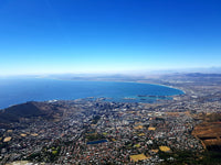 Australian Cricket Tour - The View Of Cape Town From The Top Of Table Mountain, South Africa