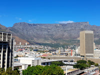 Australian Cricket Tours - The View Of Table Mountain From Our Rooms In Cape Town At Park Inn By Radisson Foreshore