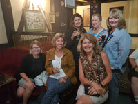 Australian Cricket Tours - Some Of The Beautiful Ladies That Experienced Cape Town With Us In 2018, At The Tulbagh Tavern, Cape Town, South Africa