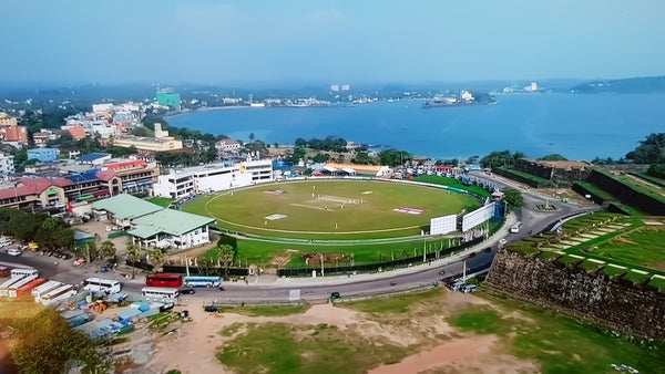 Australian Cricket Tours - Galle International Cricket Stadium Sits Open On The Peninsular In Front Of The Imposing 16th Century Dutch Fort