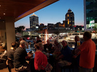 Australian Cricket Tours - The Terrace Bar At Radisson Blu Gautrain, Sandton City, Johannesburg, South Africa