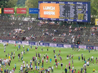 Australian Cricket Tour - The Crowd On The Ground At Liberty Wanderers Stadium, Johannesburg, South Africa
