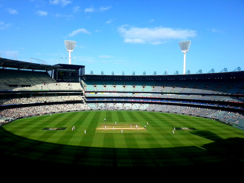 The View Of The Melbourne Cricket Ground (The MCG), Test Cricket's First Test Cricket Ground, Taken From High Up In The Ponsford Stand | Australian Cricket Tours