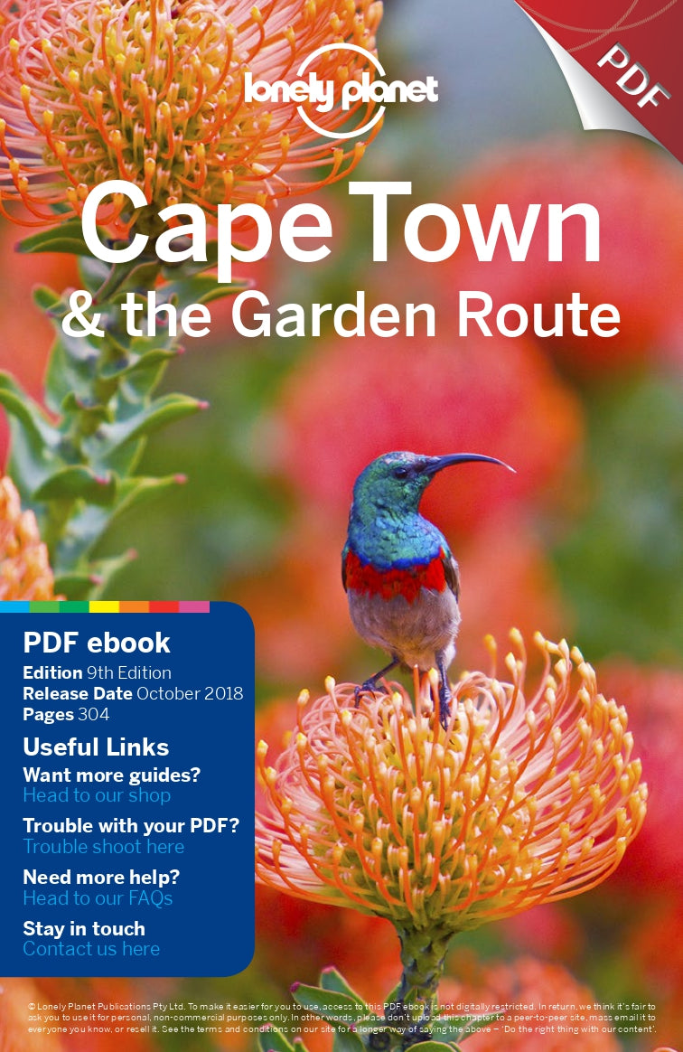 Australian Cricket Tours - Cape Town & Garden Route Lonely Planet Travel Guide