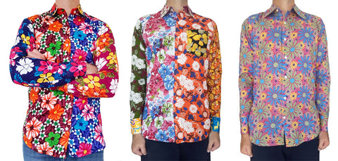 Australian Cricket Tours - Three Unique Floral Shirts Created By Bent Banani For Australian Cricket Tours