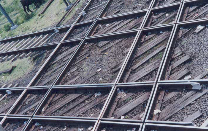 Australian Cricket Tours - Indian Railways 'Diamond Crossing' At Nagpur, Over Which Trains Travelling East, West, North, and South Cross