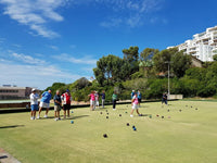 Australian Cricket Tour - Lawn Bowling Between Test Matches, Port Elizabeth, South Africa