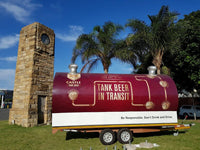 Australian Cricket Tour - A Castle Lager Beer Tanker At Sahara Cricket Stadium Kingsmead, Durban, South Africa