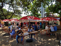 Australian Cricket Tour - The Beer Garden At Sahara Cricket Stadium Kingsmead, Durban, South Africa