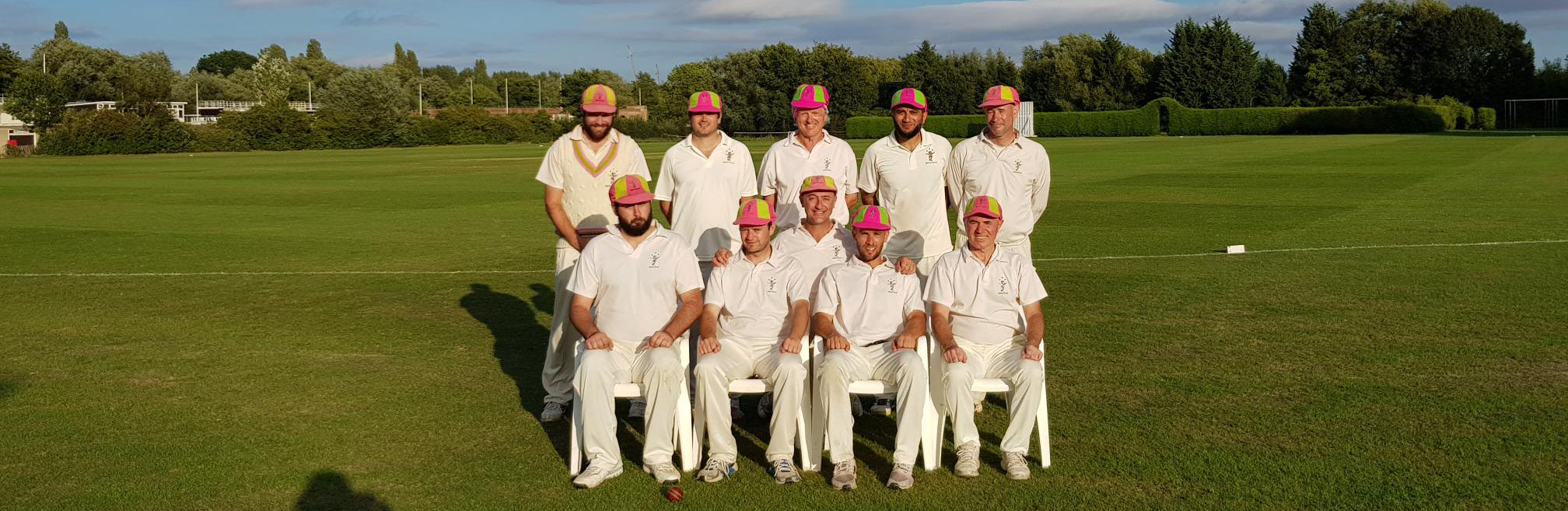 The Nepotists Cricket Club Team Photo At Oxford, 2018