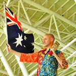 Australian Cricket Tours - Waving The Flag