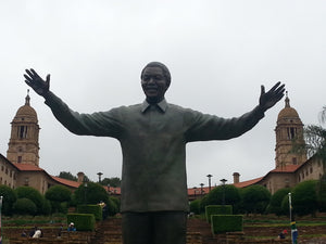 Australian Cricket Tour To South Africa, Nelson Mandela Statue, Tshwane, Pretoria, South Africa