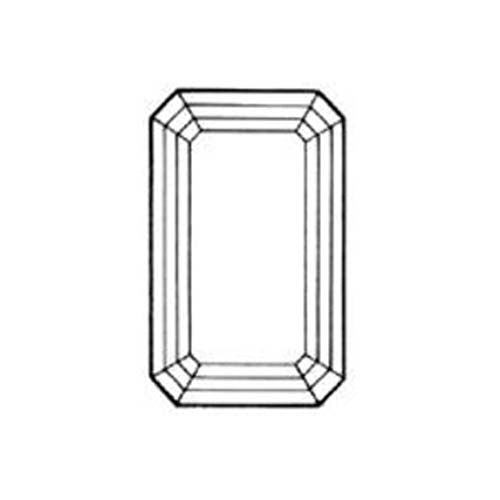 Emerald Cut Simulated