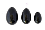 SALE!  Black Obsidian Yoni Eggs- Set of Three