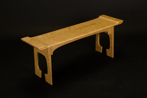 Bird's-Eye Maple Bench