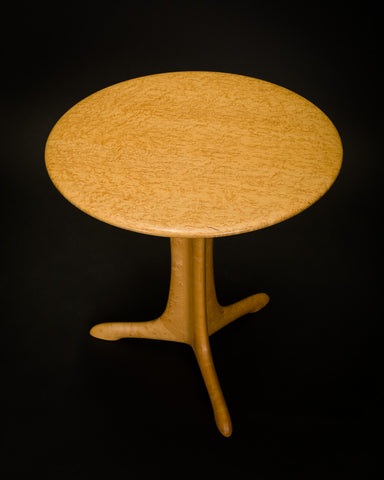 Bird's-Eye Maple Side Table