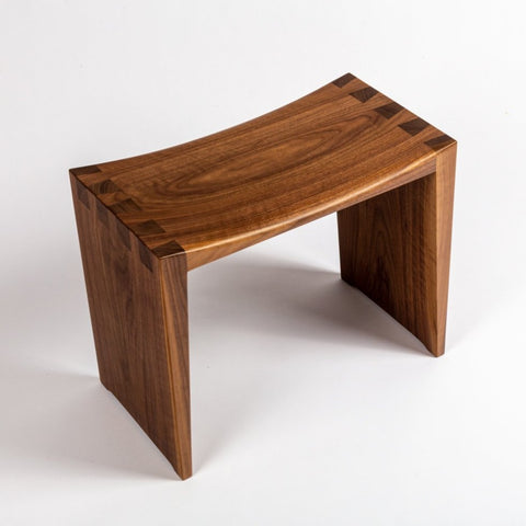 Walnut Dovetail Stool