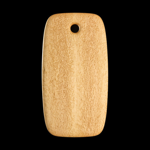 "Primo #2 - 9.5"" x 18"" Bird's-Eye Maple Cutting Board"