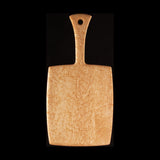 "Primo #10 - 7.25"" x 15.5"" Bird's-Eye Maple Cutting Board"