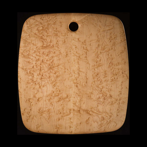 "Primo #12 - 20"" x 22"" Bird's-Eye Maple Cutting Board"