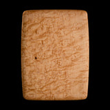 "Primo #17 - 7.25"" x 9.25"" Bird's-Eye Maple Cutting Board"