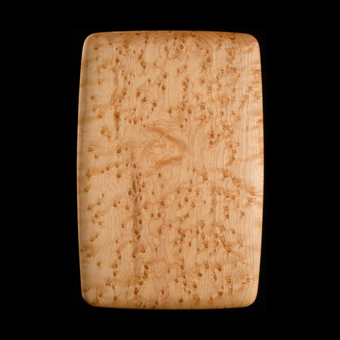 "Primo #18 - 5.5"" x 8.5"" Bird's-Eye Maple Cutting Board"